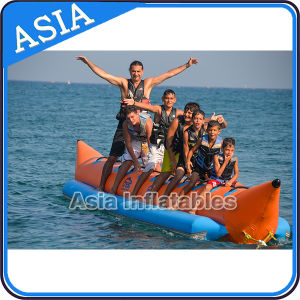 4-8 Person Inflatable Banana Boat for Water Exciting Games pictures & photos