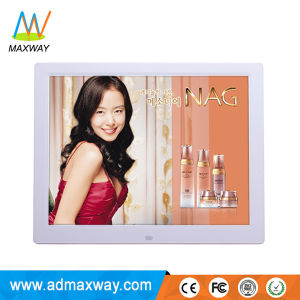 Square Loop Video LCD 14 Inch Digital Photo Frame with Charger (MW-1402DPF) pictures & photos