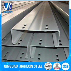 Hot/Cold Rolled Coated/Painted/Hot Dipped Galvanized C Channel Section Steel pictures & photos
