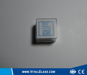 Low E Glass/Clear Float Glass/Laboratory Microscope Cover Glass pictures & photos