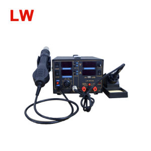 8503D 3in1 USB 2A DC Power Supply Hot Air Gun Soldering Rework Station pictures & photos