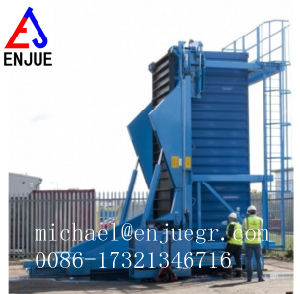 20/40FT Hydraulic Container Tilter Container Tilting for Loading and Unloading Corn and Rice Grains pictures & photos