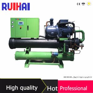 40kw 40% Ethylene Glycol Screw Type Water Cooled Chiller pictures & photos