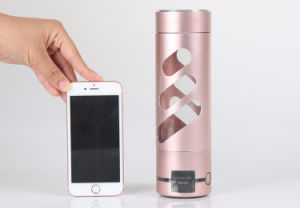 Portable Hydrogen Rich Water Maker Ionizer Generator Anti Aging Bottle pictures & photos