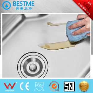 201stainess Steel 304 Stainless Steel Machine Make Kitchen Steel Sink (BS-8005) pictures & photos