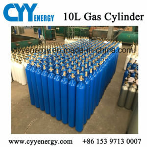 High Pressure Stainless Steel Gas Cylinder for Oxygen Nitrogen Argon with ISO Standard pictures & photos