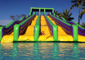 Inflatable Water Park for Amusement in Outdoor pictures & photos