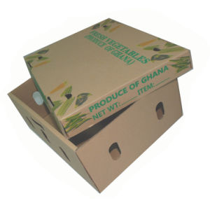 Fruit Vegetable Corrugated Paper Box pictures & photos