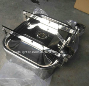 SUS304 Sanitary Stainless Steel Tank Hatch Cover pictures & photos