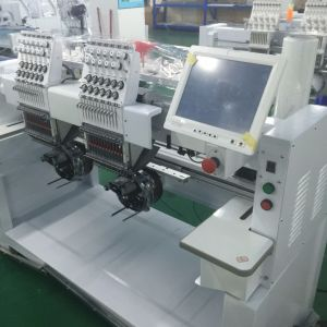 10 Inches Touch Screen Computerized Multi-Head Embroidery Machine with Automatic Trimmer pictures & photos