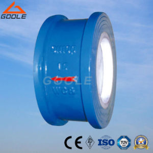 Ceramic Lined Disc Type Wafer Check Valve (GH72TC) pictures & photos