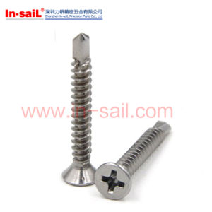 DIN7504-K Hex Head Self Drilling Screw with EPDM pictures & photos