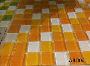 Nobel Design Stained Glass Mosaic in Foshan (AJLB01) pictures & photos