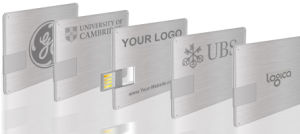 Custom Brushed Metal Aluminum Alloy Card USB Flash Driver Memory Business Cards USB for Advertising pictures & photos