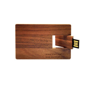 Free Engrave Logo Wooden USB Flash Drive 64GB Card USB Pen Drive pictures & photos