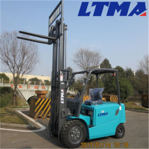 Ltma Environmentally Friendly 3 Ton Electric Forklift Truck pictures & photos