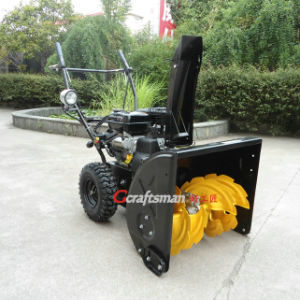 9HP 270cc Engine Electric Start 2 Stage Snow Thrower pictures & photos