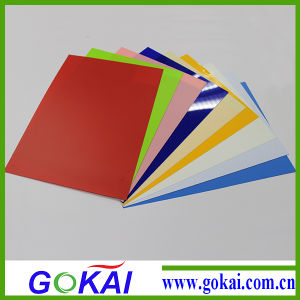 0.4mm Clear Color Offset Vinyl Thin Rigid Calendar PVC Sheet with Best Price pictures & photos