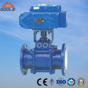 3PCS Electric Actuated Ceramic Floating Ball Valve (GQ941TC) pictures & photos