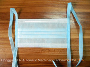 Lr05c New Design Tie on Medical Face Mask Making Machine pictures & photos