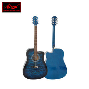 Colorful 41 Inch High Quality Wholesale Student Acoustic Guitar (SG028CA) pictures & photos
