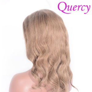 Hot Sale Brazilian Virgin Remy Hair Light Color Body Wave Silk Top Lace Wig pictures & photos
