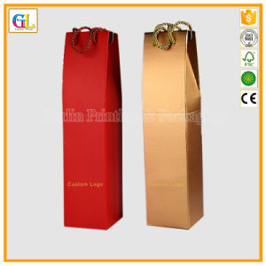 1 Wine Bottle Paper Packaging Bag pictures & photos