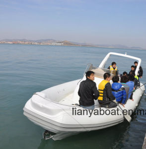 Liya 8.3m Rib Hypalon Inflatable Boat Manufacturers in China pictures & photos