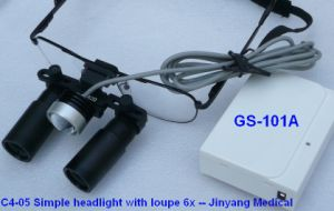 Doctor Surgical Medical Optical Magnifying Glass Neurosurgery Loupes 4X pictures & photos