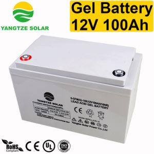 Yangtze Solar Front Terminal 12V 100ah Power Supply UPS Battery pictures & photos