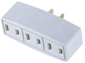 3 Ways White PC Power Plug pictures & photos