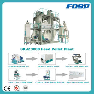 High Output Animal Feed Pellet Machine Making Pellet Plant pictures & photos