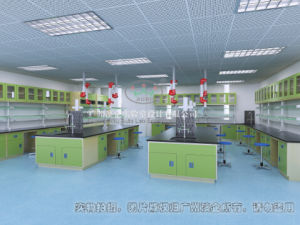 New Design Biology Lab Full Steel Island Bench