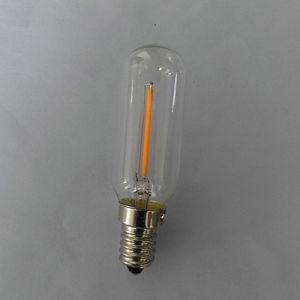 T25-1 120V/230V 1W Warm White 100lm Clear Glass E14 Base Tube Lamp
