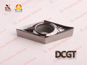 Cemented Carbide CNC Cutting Tools for Aluminum Turning Inserts Dcgt pictures & photos