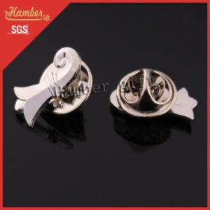 Zinc Alloy Silver Lapel Pin