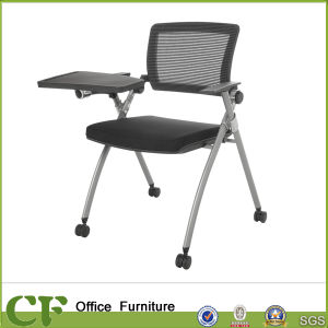 Office Training Room Chair with Folding Writing Board with Cup Holder pictures & photos