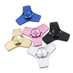 Alloy Fidget Toy Anxiety Stress Adults Kid Metal Spinner pictures & photos