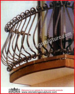 Wrought Iron Window Grill, Window balustrade, Window Frame pictures & photos