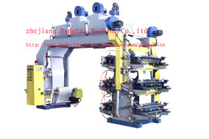 6 Color High Speed Flexo Printing Machine (CE) pictures & photos