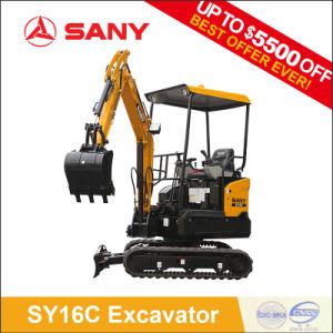 Sany Sy16c 1.6 Ton Tree Planting Hole Digger Mini Crawler Excavator pictures & photos