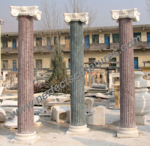 Roman Column Pillar with Stone Marble Sandstone Granite (QCM119) pictures & photos
