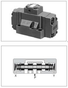 Hydraulic Valves-Directional Control Valves With Sub-Plate Mounting (DHG-04/06/10)