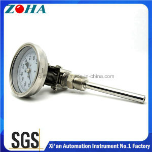 Stainless Steel Bimetallic Thermometer with Back or Bottom or Universal Connection pictures & photos