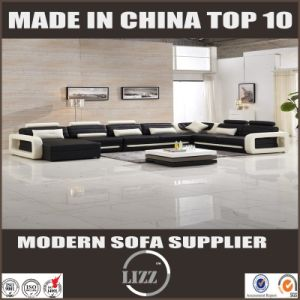 Best-Selling Popular Modern Design Living Room Leather Sofa pictures & photos