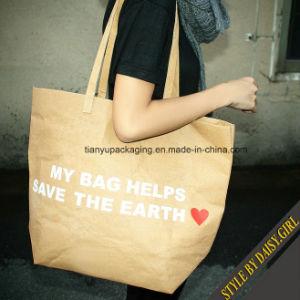 Eco-Friendly Washable Paper Bag pictures & photos