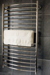 Curved Stainless Steel Heated Towel Dryer