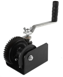 Worm-Gear Hand Winch H-1500HDV pictures & photos