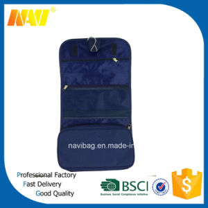 Foldable Polyester Toiletry Bag Hanging pictures & photos