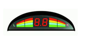 Rainbow Shape LED Parking Sensor (MP-LED216-F)
